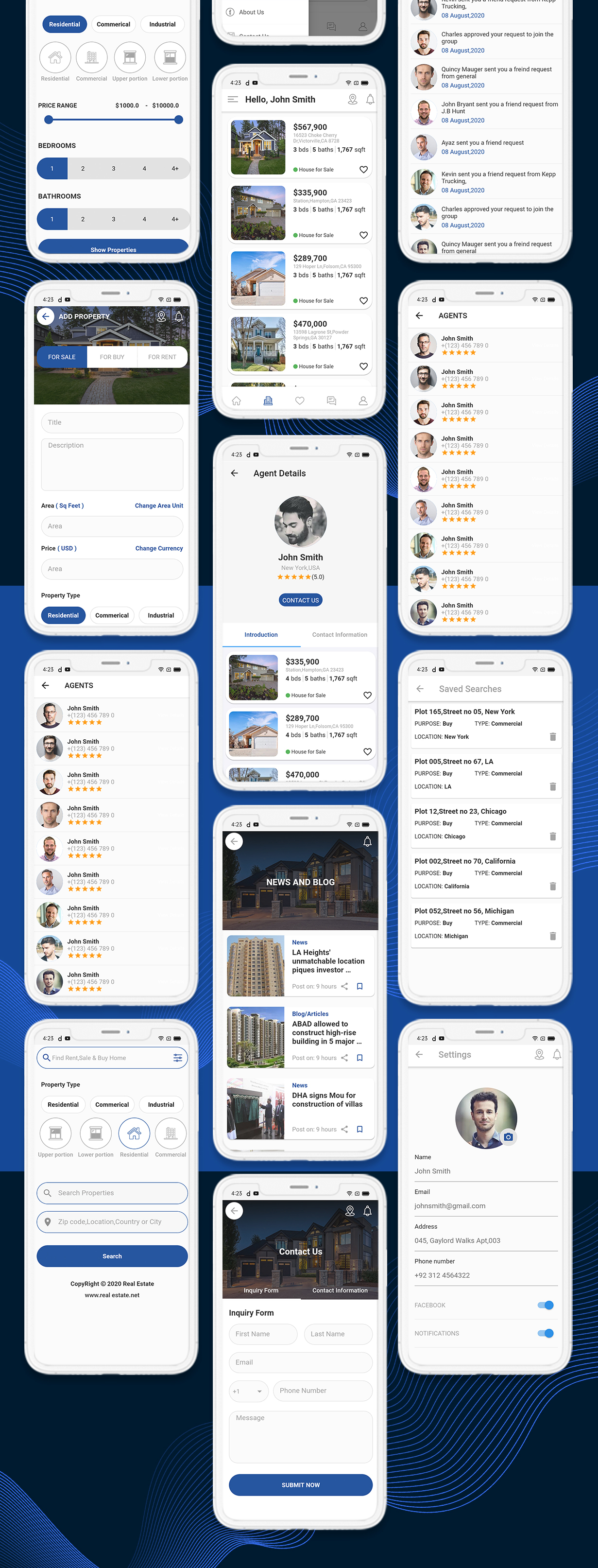 onProperty - Real Estate App Template for Flutter (Android and IOS) - 14