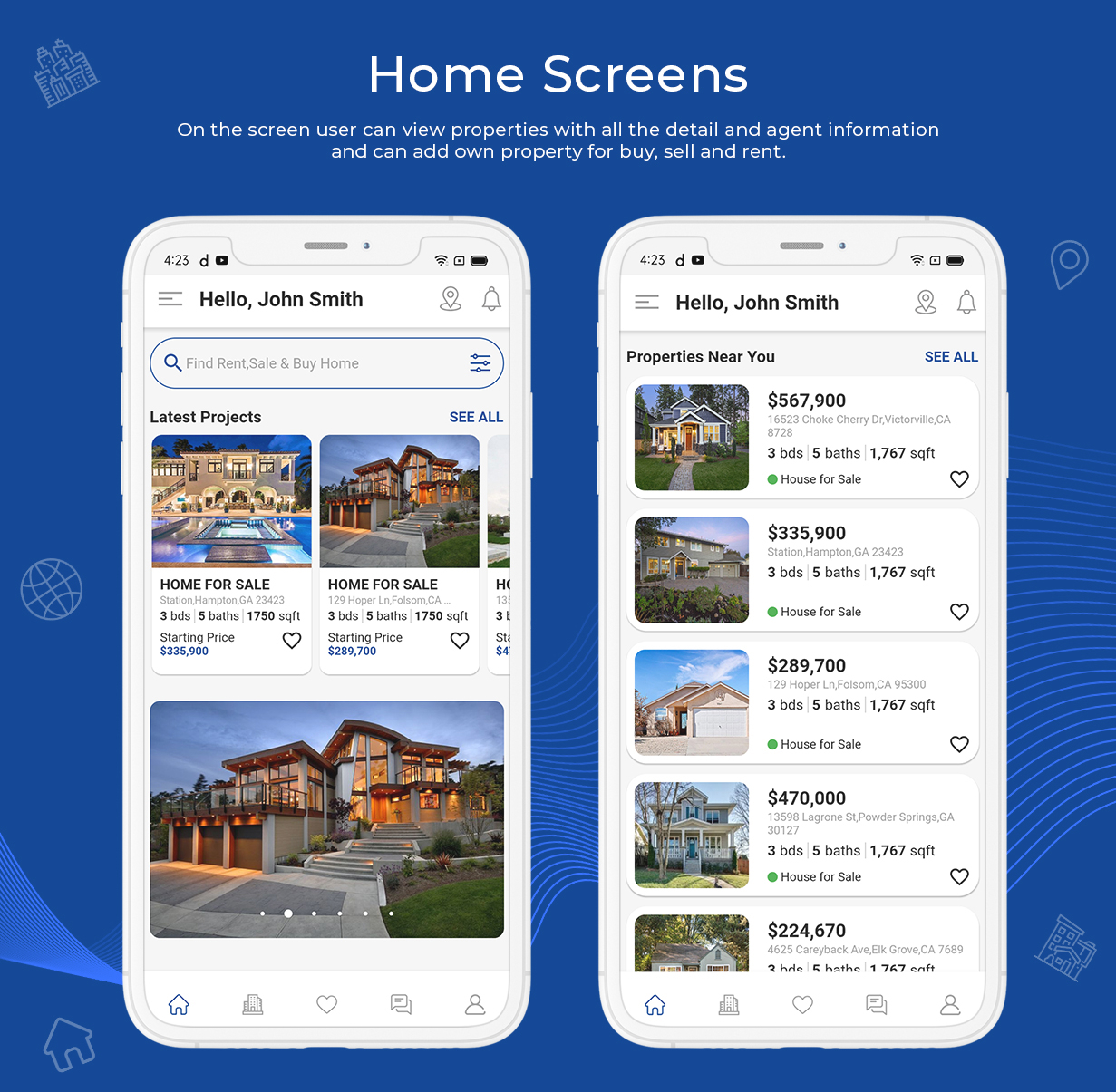 onProperty - Real Estate App Template for Flutter (Android and IOS) - 3